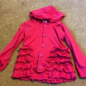 Other - Pink sweatshirt lightweight size 5/6t